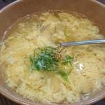 やきにく藤太 - たまごスープ