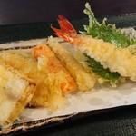 ざる蕎麦せと - 天ぷら盛合せ