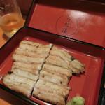 うな清 - 「白焼き」2,700円