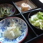ふきのとう - 料理写真:定食の小鉢