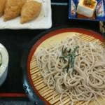 大門 - 料理写真:ざるそば定食(いなり)900円税込み
