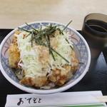 とりかつ丼の黒兵衛 - 料理写真:まかない丼(╹◡╹)♡