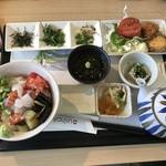89324171 - 海鮮と夏野菜の冷やし茶漬け御膳