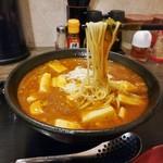 太威 - マーボー麺 1辛/細麺