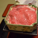古山閣 - 料理写真:尾花沢牛の温泉蒸し