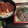 とんかつ三丁目 - 料理写真:味噌カツ丼とざるそはのセット(税込928円)