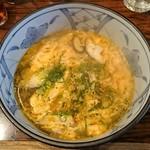 たじま屋 - 玉子スープ