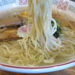 らーめん心繋 - 生姜塩の細麺