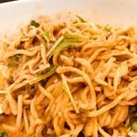shisentantammenaun - 汁なし担担麺を混ぜた後 濃厚感が伝わります