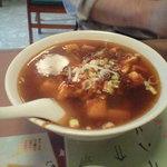 Ryuukahanten - 麻婆麺と半チャーハンセット 850円
