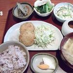かまいキッチン KAMAY KITCHEN - ベジメニューののり塩コロッケ定食