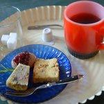 ケリノスギャラリーカフェ - 食後のデザート