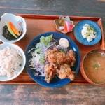 Tousha - 山椒と生海苔の鶏唐揚げ