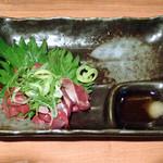 日本酒の店 はなきん - 鶏レバー刺身