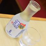 動坂食堂 - 冷酒(500円)2018年7月