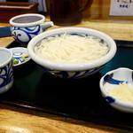 石川うどん - 料理写真:[2018/06]釜あげうどん(420円)