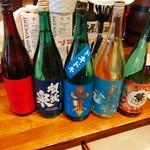 海鮮大衆酒場ル うなり - 日本酒も色々ご用意あり〼