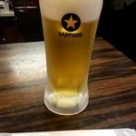 珉珉 - 生ビール
