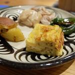 もうひとつのダイドコロ - 惣菜ランチ(1250円)の惣菜