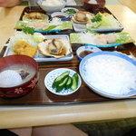 リボン食堂  - ほたて定食