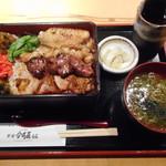 新宿 今井屋本店 - 焼き鳥重¥1480-