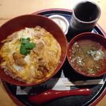 新宿 今井屋本店 - 半熟とろっとろ比内地鶏の親子丼¥1200-