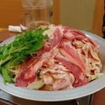 福島壱麺 - 豚肉醤油鍋