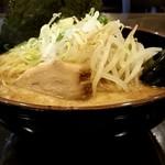 豚骨らーめん福徳 - マー油豚骨ラーメン650円+麺大盛り50円!