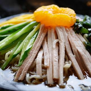 名代三角そばや - 料理写真:上品な味の冷やし中華