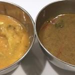 89345808 - ブロッコリーと白豆、魚出汁ラッサム