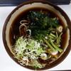 百万石 - 料理写真:山菜そば(\340税込み)