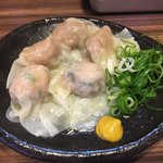 ラーメン 西ちゃん - 「おつまみワンタン」350円