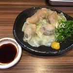 ラーメン 西ちゃん - おつまみワンタン」350円