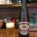 ラーメン 西ちゃん - 「瓶ビール(大)」500円
