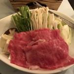 おおみや旅館 - 料理写真:山形牛のすき焼き