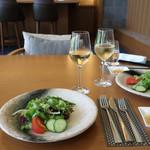 ラウンジ 光明 - 料理写真:ランチ・セットのサラダ