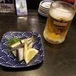 89351565 - ままかり酢と生ビール