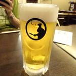 ゴリラ食堂 - 生ビール