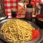 スパゲッティーのパンチョ - 【再訪】白ナポ(大)