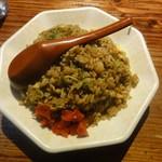 ラーメン麺長 - カレー焼飯