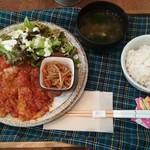Yummy Mammy - 日替りワンコイン『ポークチャップ』(500円)