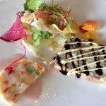 アクア グリル ダイニング - 料理写真:パテドカンパーニュと野菜と魚のテリーヌ