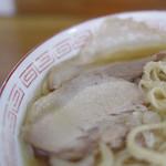 中華そば 琴の - チャーシュー