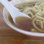 中華そば 琴の - スープ