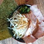 横浜ラーメンとんこつ家 - ネキ味噌チャーシュー麺