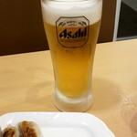 89358508 - 生ビール:190円、お替り!