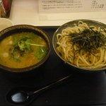 鶏極 - 極つけ麺中盛740円