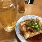 一月家 - お奨めされた湯豆腐