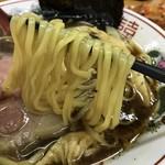 麺屋ガテン なんば心斎橋 総本店 - クロスカウンター(720円)麺リフト