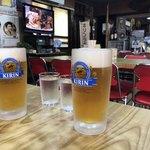 中華料理 しまむら - 生ビール